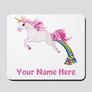 Unicorn Pooping Mousepad